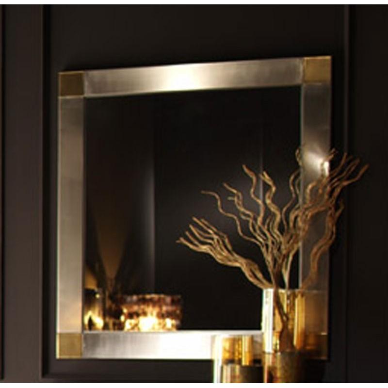 Espejos de acero corten espejos plateados arca arte met lica for Espejos plateados