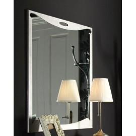 Espejo ROMANTICA (gris metalizado patinado)