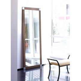 Espejo CÚBICA 90 x 200 x 2 (Acero corten óxido natural, cuadrados estaño)